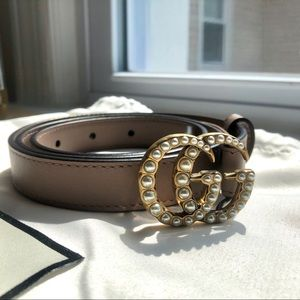 NWOT ⭐️ Authentic Gucci Pearl Belt